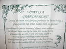 What is a Grandparent? Novelty Tea Towel - Image 1