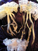 Lovely Lace Wedding Garters - Image 2