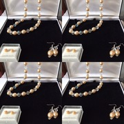 Majorcan Pearl & Crystal Necklace