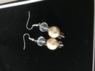 Majorcan Pearl and Crystal Earrings - Image 1
