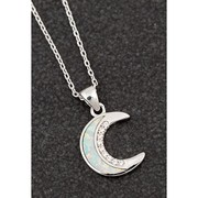 Moon Opalescent Necklace