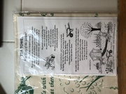 The Glory of the Garden Tea Towel