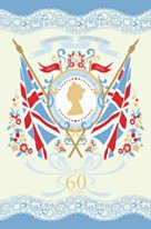 HRH Queen Elizabeth II Coronation Souvenir Tea Towel